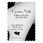 Opening Night Theater Invitation Custom Invites