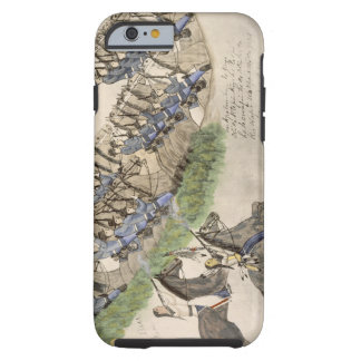 Opening of the Battle of the Little Big Horn (ink iPhone 6 Case