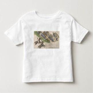 Opening of the Battle of the Little Big Horn (ink Toddler T-shirt