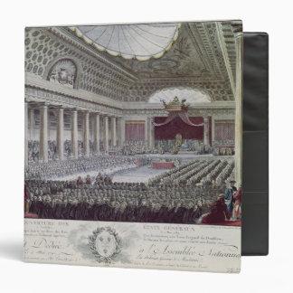 Opening of the Estates General at Versailles 3 Ring Binder