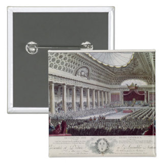 Opening of the Estates General at Versailles Pinback Button