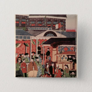 Opening of the First Railway in Japan Button