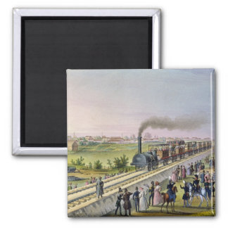 Opening of the First Railway Line Refrigerator Magnets