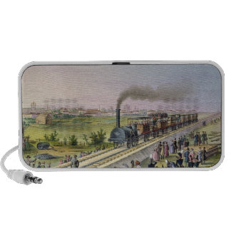 Opening of the First Railway Line Mini Speaker