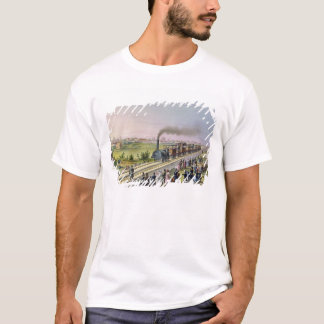 Opening of the First Railway Line T-Shirt