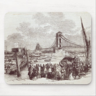 Opening of the Hungerford Suspension Bridge Mouse Pad
