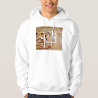 Opening of the Mouth Ceremony Book of the Dead Hooded Pullover