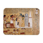 Opening of the Mouth Ceremony Book of the Dead Rectangular Magnet