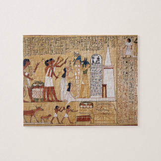 Opening of the Mouth Ceremony Book of the Dead Jigsaw Puzzle