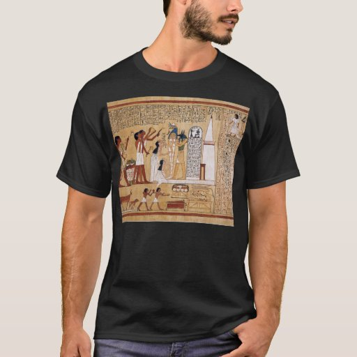 Opening of the mouth ceremony book of the dead t shirt zazzle