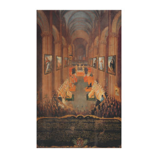 Opening session of the Council of Trent Canvas Print