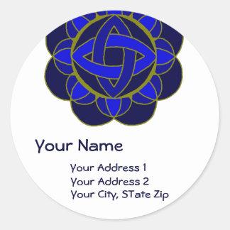 """Opening the 3rd Eye Chakra"" Address Label"