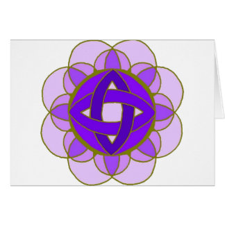 """""""Opening the Crown Chakra"""" Note Card"""