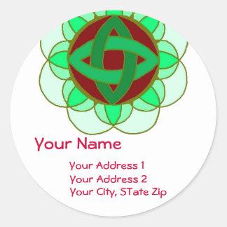 """Opening the Sacred Heart Chakra"" Address Label"