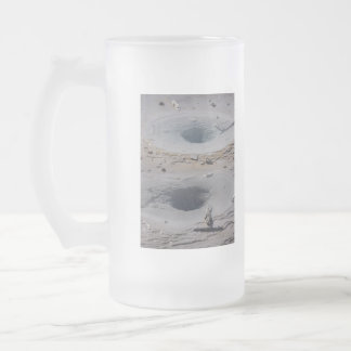 Openings To The Deep Frosted Glass Beer Mug