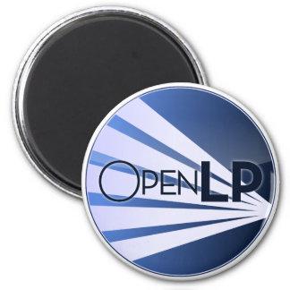 OpenLP Round Fridge Magnet