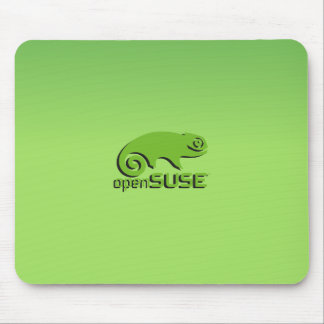 OpenSuse Linux  green Mouse Pad