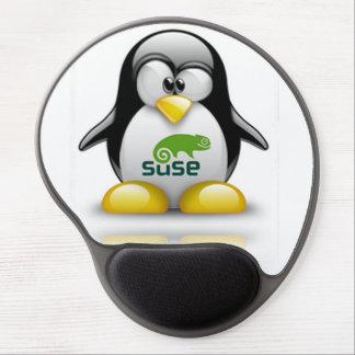 openSuzie Linux con el cojín de ratón de Tux Alfombrilla De Raton Con Gel