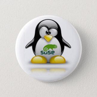 openSuzie Linux Logo Pinback Button