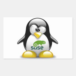 openSuzie Linux Logo Rectangular Sticker