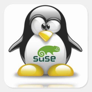 openSuzie Linux Logo Square Sticker