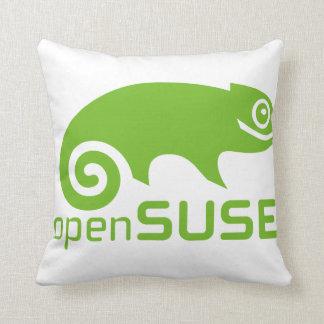 openSuzie Linux Logo Throw Pillow