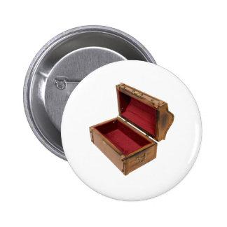 OpenTreasureChest100309 Pin Redondo De 2 Pulgadas