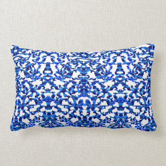 Openwork pattern in the style chinoiserie lumbar pillow