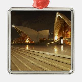 Ópera 2 de Australia, Nuevo Gales del Sur, Sydney, Adorno Navideño Cuadrado De Metal
