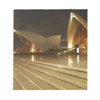 Ópera 2 de Australia, Nuevo Gales del Sur, Sydney, Bloc De Notas