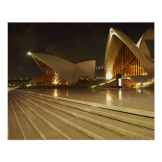 Ópera 2 de Australia Nuevo Gales del Sur Sydney Poster