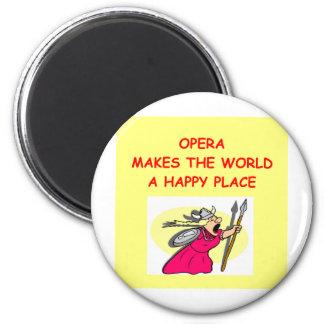 opera 2 inch round magnet