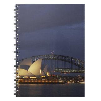 Ópera 3 de Australia, Nuevo Gales del Sur, Sydney, Note Book