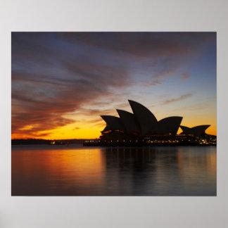 Ópera 5 de Australia Nuevo Gales del Sur Sydney Poster