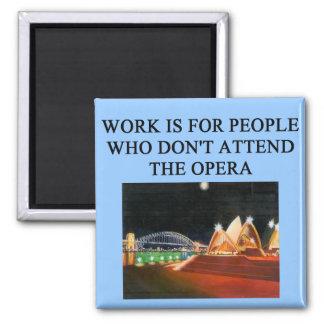 opera beats work fridge magnet