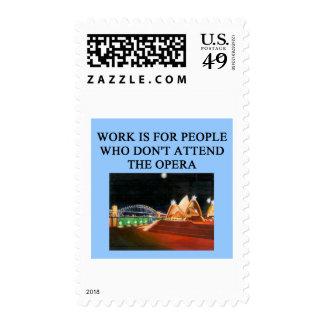 opera beats work postage stamp