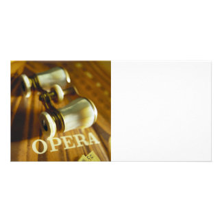 Opera Binoculars Card