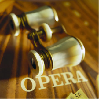 Opera Binoculars Cutout