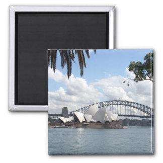 opera bridge magnet