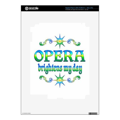 Opera Brightens iPad 3 Skin