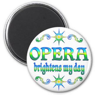 Opera Brightens Refrigerator Magnets