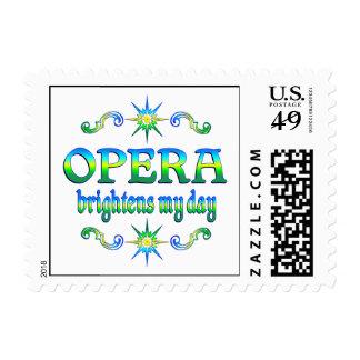 Opera Brightens Stamps