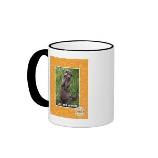 Opera Cat Ringer Mug