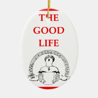 opera ceramic ornament