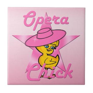 Opera Chick #8 Tile