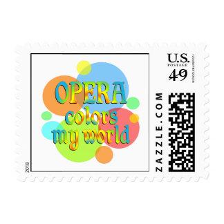 Opera Colors My World Postage
