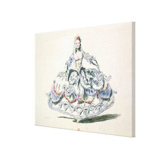 Opera Costume, from the Menus Plaisirs Collection, Gallery Wrapped Canvas
