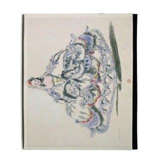 Opera Costume, from the Menus Plaisirs Collection, iPad Folio Cover