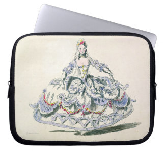 Opera Costume, from the Menus Plaisirs Collection, Laptop Sleeve