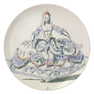 Opera Costume, from the Menus Plaisirs Collection, Party Plate